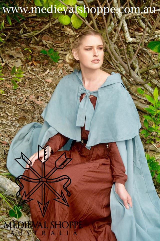 Extensive Hooded Cape (Various Colours)