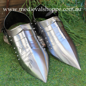 Sabatons (Solerets) - Armoured Shoes.