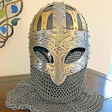 Dark Ages Helmet (Ocular Spangenhelm) 16g