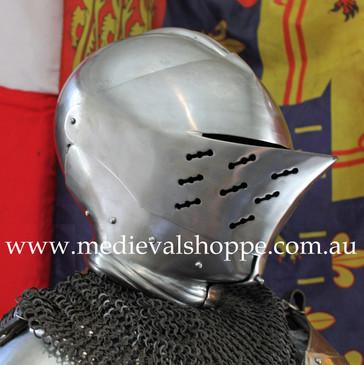 Gothic Renaissance Knight's Helm (18g)