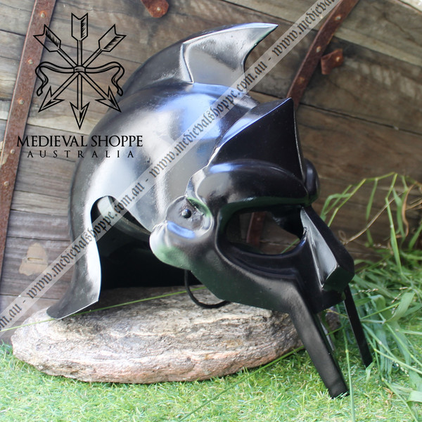 Gladiator Helmet with Suspension Liner & Chinstrap
