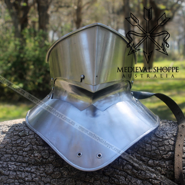 Neck and Jaw Armour - Bevor & Gorget Plate