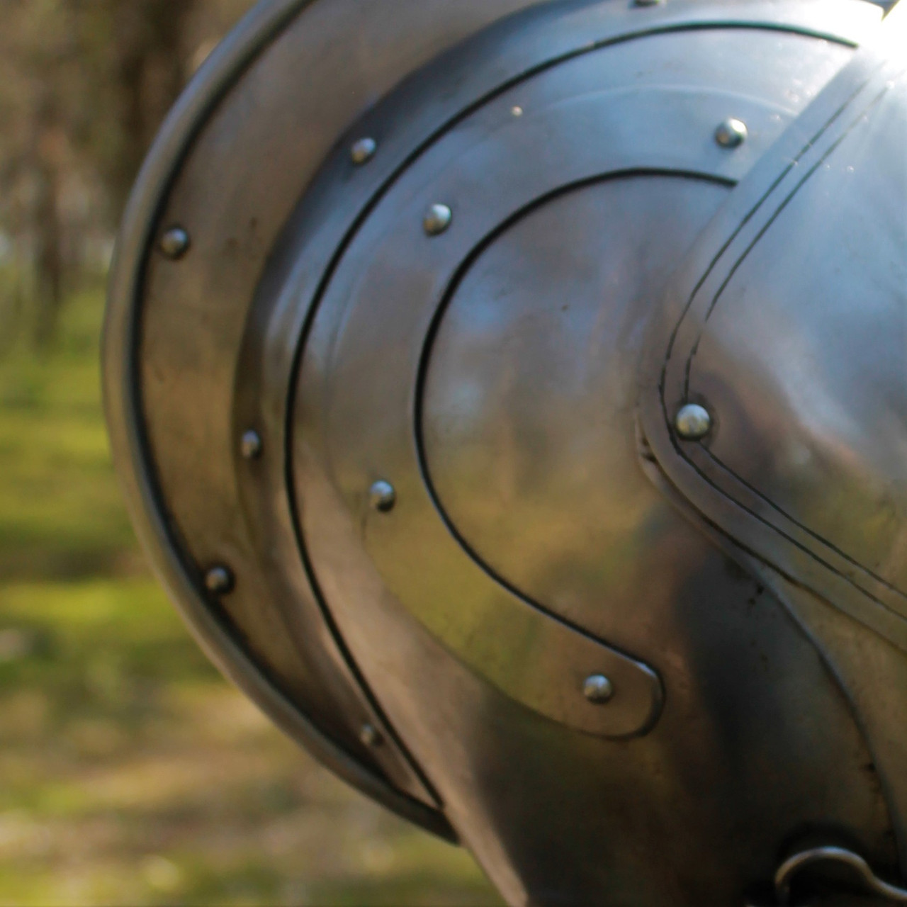 Armet Helm (SCA adaptable)