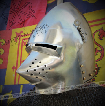 Snout-Faced / Pig-Faced or Hounskull Bascinet (helm) (16G)