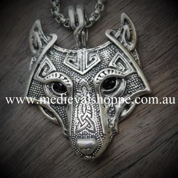 Pictish Wolf Pendant