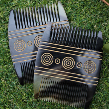 Viking Comb - Made from Cow Horn