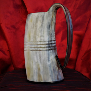 Cow Horn Tankard - Beer Mug (3)