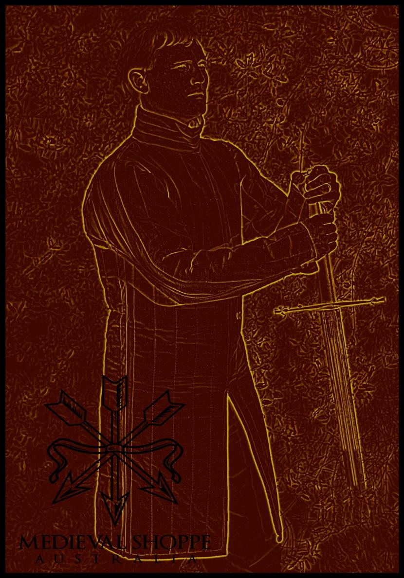 Classic Gambeson, Wambais, Aketon (Medium) - Medieval Padded Armour