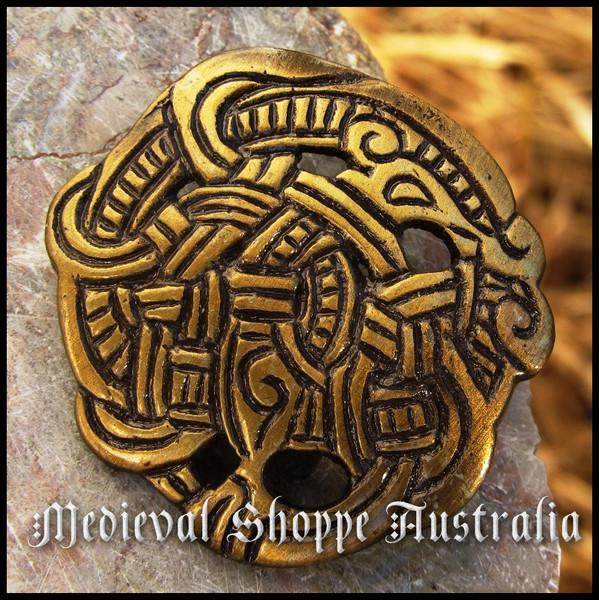Norse Dragon Brooch