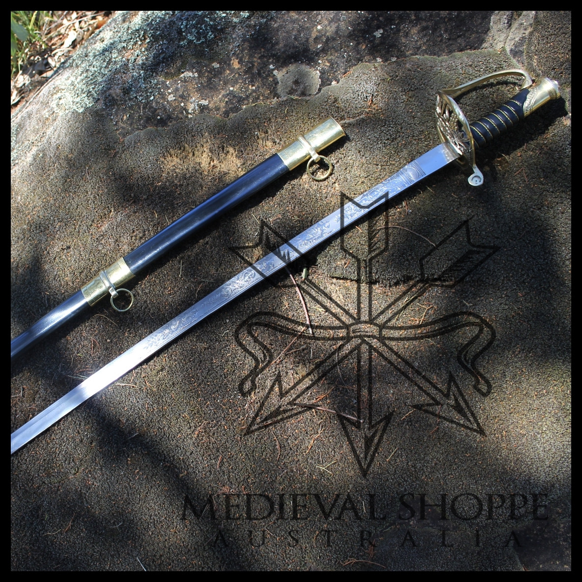 Model 1850 Army Staff & Field Officers' Sword