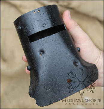 Miniature Ned Kelly Helmet