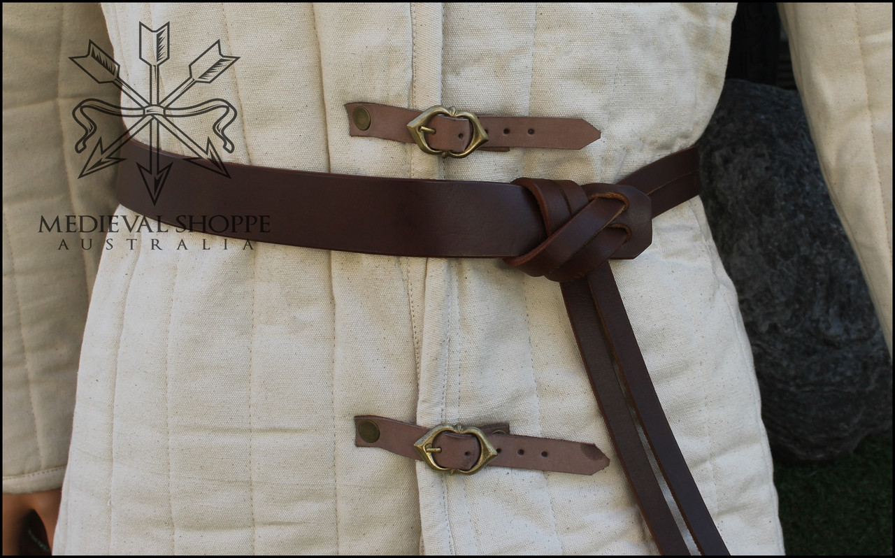 Viking/Norman Tie-up Lash Belt