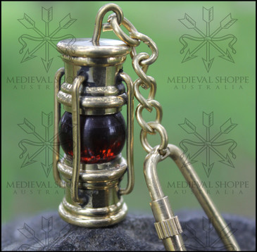 Oil Lamp keychain