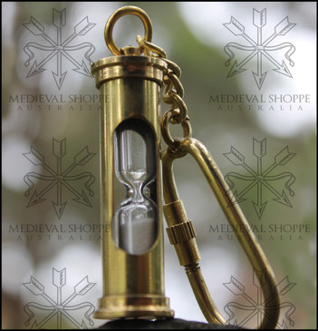 Hourglass Keychain - Keyring