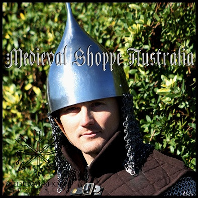 Grand Duchy of Moscow Helmet with Butted Chain Mail Curtain