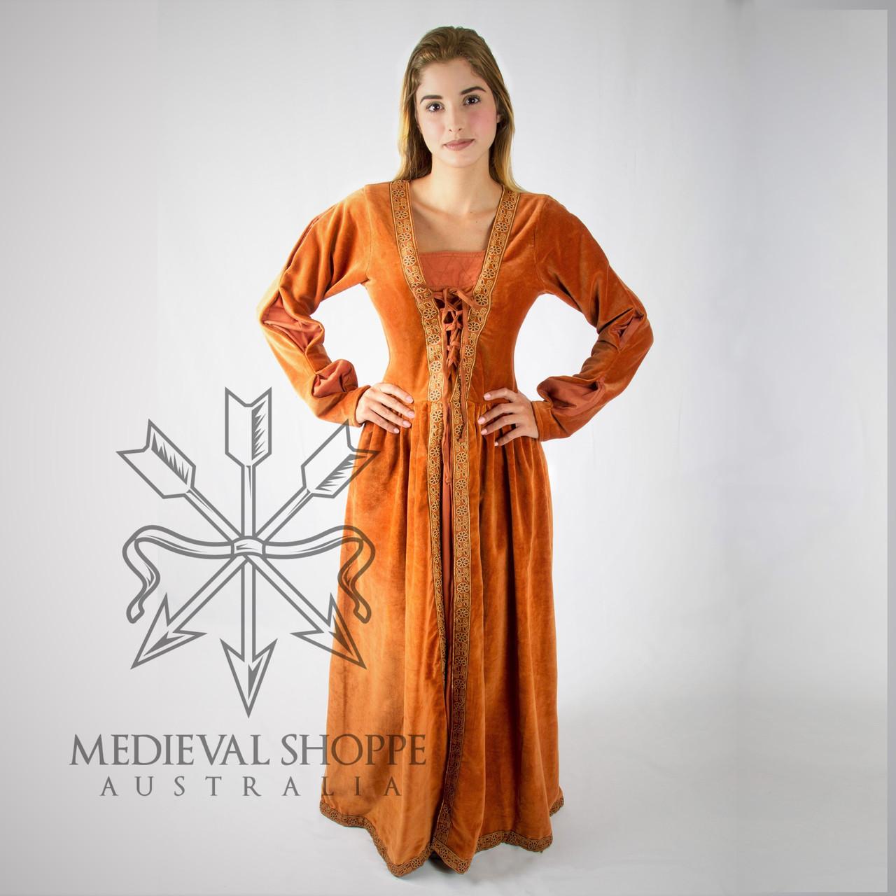 Terracota Medieval Dress 2124