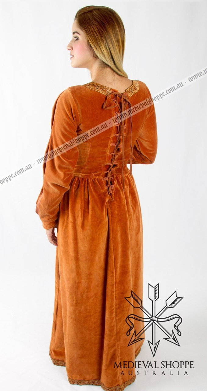 Terracota Medieval Dress 2124