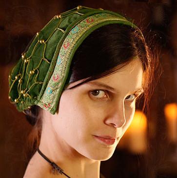 Noblewoman's snood: Renaissance cap/hairnet