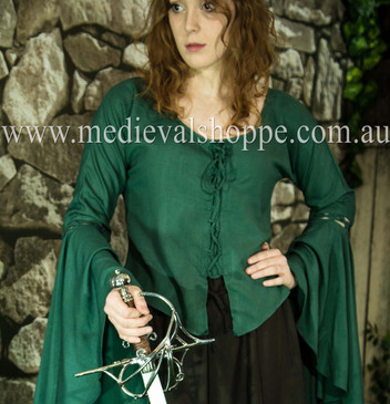 Emerald Blouse