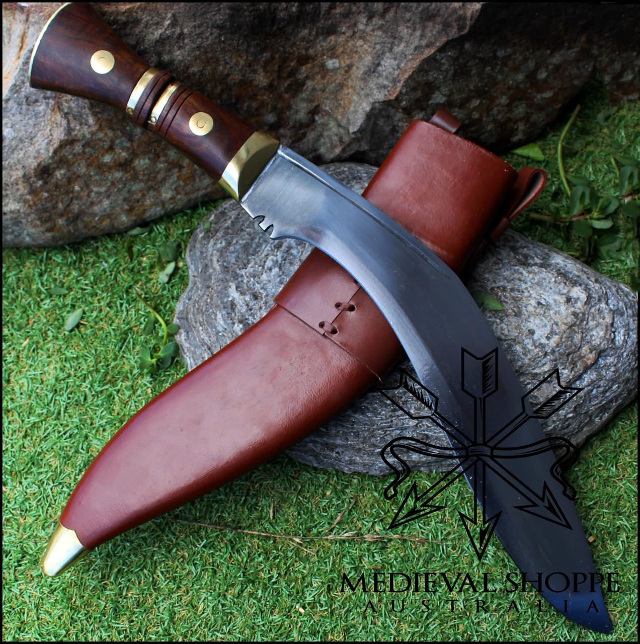 "Gurkha Knife - 14"" Blade (Brass Fittings)"