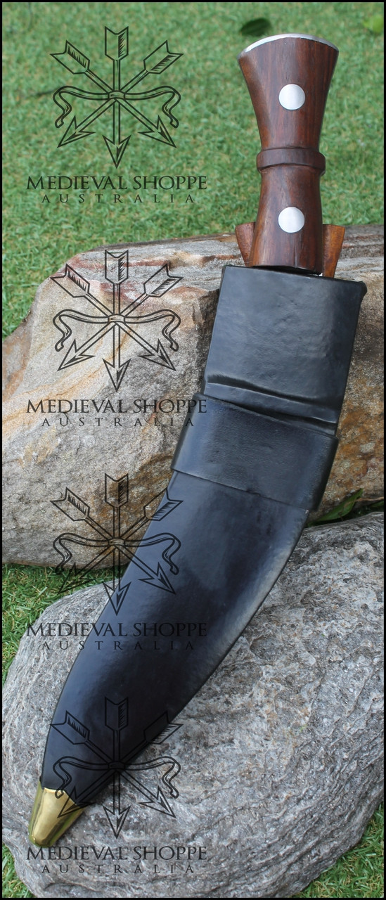 "Genuine Nepali Khukuri - Gurkha Knife - 12"" Blade"