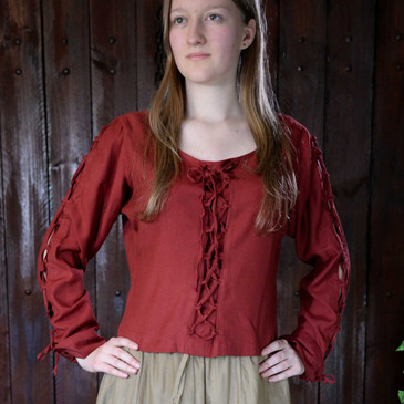 Red Blouse (Medium)