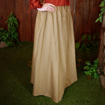 Tan (Light Brown) Skirt (Medium)