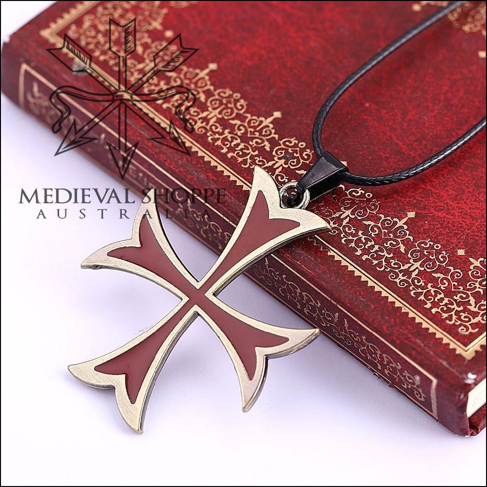Knights Templar Cross Pendant