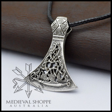 Nordic Axe Head Amulet
