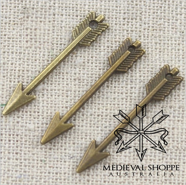 Bronze Arrow Jewellery (earing/pendant/charm)