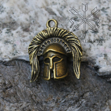 Greek Warrior Pendant