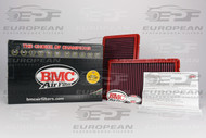 BMC Air Filter FB129/03, high performance air filter for: Ferrari 456 5.5 V12 ('93-'04), Ferrari 550 Maranello 5.5 V12 ('96-'02), Ferrari F355 Berlinetta ('94-'99), Ferrari F355 Spyder ('99-'00), and Ferrari F40 3.0 V8 ('90-'92).