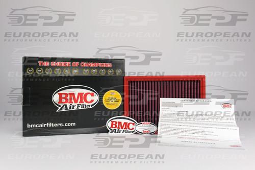 BMC Air Filter FB132/01, high performance air filter for: BMW 325i/xi ('90-'99) ('00-'05), BMW 328i/xi ('90-'99) ('00-'05), BMW 330i/xi ('00-'05), BMW M3 ('95-'99) ('03-'06), BMW 525i ('97-'03), BMW 528i ('97-'03), BMW 530i ('97-'03), BMW 540i ('97-'03), BMW X3 ('03-'06), BMW Z3 ('97-'03), BMW Z3 M Coupe ('97-'03), BMW Z4 25i ('03-'05), and BMW Z4 30i ('03-'05).