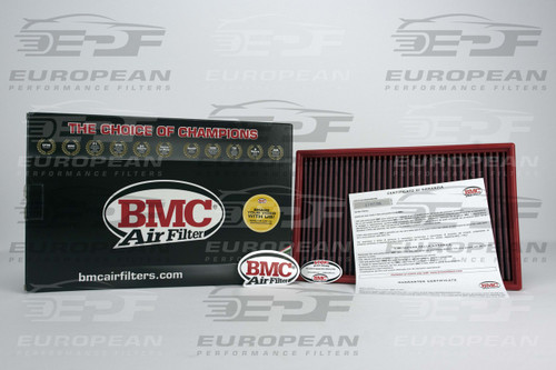 BMC Air Filter FB382/01, high performance air filter for: Audi A3 3.2 V6 ('06-'09), Audi TT 3.2 V6 ('06-'09), and Audi TT 2.0 TFSI ('08-'13).
