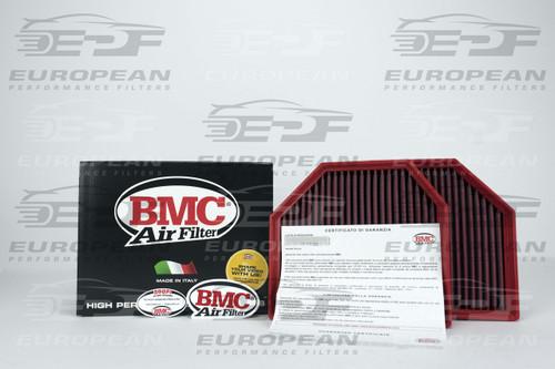 BMC Air Filter FB647/20, high performance air filter for: BMW M3 ('14>), BMW M4, BMW M5 ('11>), BMW M6 ('12>), BMW M6 Gran Coupe ('14>).