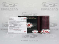 BMC Air Filter FB743/08, high performance air filter for Audi A8.