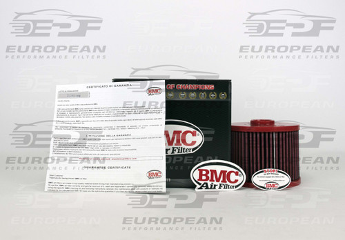 BMC Air Filter FB765/08, high performance air filter for Audi A6.
