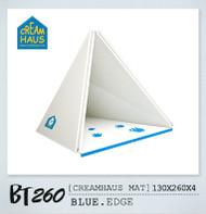 Creamhaus Mat (Blue Edge)