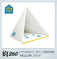 Creamhaus Mat (Yellow Edge)