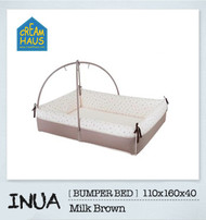Inua Bumper Bed (Milk Brown)