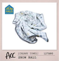 Creamy Towel Snow Ball