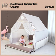 Grand Inua Haus & Bumper Bed (Cream)