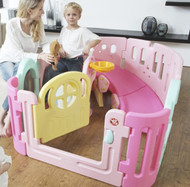 Round Babyroom - Pink (Without Slide)