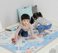 Creamy Play Mat L (Village)