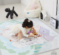 Creamy Play Mat L (Castle)