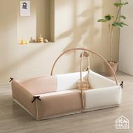 Inua Bumper Bed XL (Latte Beige)