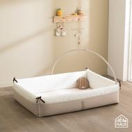 Inua Bumper Bed XL (Milky Grey)