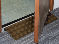 Doorline-variwedge - No protruding legs to obstruct door swing