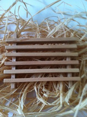 Wooden Soap box Draining Dish