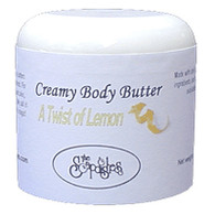 A Twist of Lemon Body Butter  4oz.